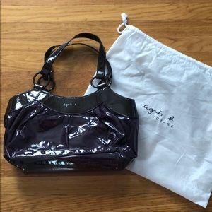 fde74f2a93d Agnes B. Agnes B. Vinyl Shoulder Bag